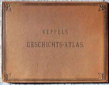 Keppels Geschichts-Atlas in 27 Karten - historischer Atlas (R.Oldenbourg)