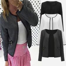 Fashion Women Slim Long Sleeve Casual Business Suit Blazer Coat Jacket Outwear B
