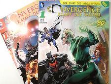 Auswahl : DC CONVERGENCE Kampf der Welten Heft # 1 2 3 4 5 von 5 ( Panini ) NEU