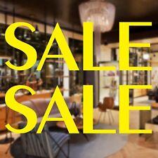 2x Large SALE Shop Window Sign Vinyl Sticker Retail Display Advertising Decal 9N