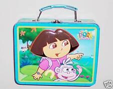 "Metal 6 1/2"" Dora Lunch Box - Blue Multicolor"