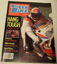SuperBike 5/90 Kevin Schwantz Bimota YB4EI Yamaha OW01 XT600E Kawasaki ZZ-R1100