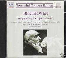BEETHOVEN SINFONIA N 5 TRIPLO CONCERTO TOSCANINI CD