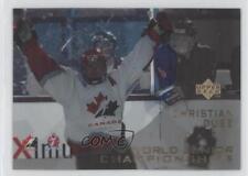 1996 Upper Deck Ice #136 Christian Dube Team Canada (National Team) Hockey Card