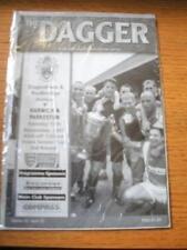 13/11/2001 Dagenham And Redbridge v Harwich And Parkest
