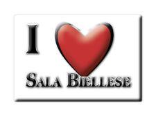 CALAMITA PIEMONTE FRIDGE MAGNET MAGNETE SOUVENIR LOVE SALA BIELLESE (BI)