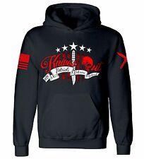Knives Out Hooded Sweatshirt I Patriot I Veteran I Diehard I Flag I America