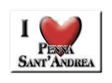 CALAMITA ABRUZZO FRIDGE MAGNET MAGNETE SOUVENIR LOVE PENNA SANT'ANDREA (TE)