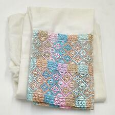 "100% cotton ladies plus size Cream shalwar salwar trouser readymade 28-52"" Waist"
