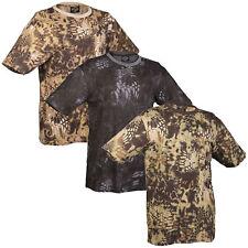T-Shirt mandra tarn S-3XL, snake camo US Shirt schlangentarn Army Tarnshirt