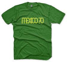 MEXICO 1970 rétro CALCIO MAGLIETTA - tutte le taglie