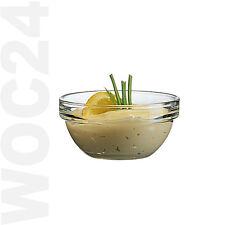 6er SET Honig Konfitüre Marmelade Dip Frühstück Ketchup Schälchen Schalen Glas
