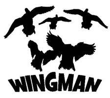 WINGMAN Duck Hunter Vinyl Decal CHOOSE SIZE/COLOR commander hunting dynasty