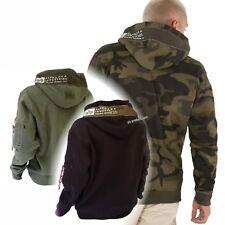 Alpha Printed Tape Hoody - Alpha Industries Kapuzenpullover Sweater 80%Baumwolle