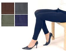 1, 2 oder 4 Damen Leggings  Leggins seamless Microfaser  farbig   2E1