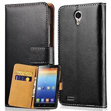 Genuine Real Leather Flip Case Wallet Cover For Lenovo K5 K6 K8 Note PHAB2 Pro