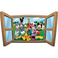 Sticker enfant fenêtre La Bande a Mickey  réf 978 978