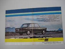 advertising Pubblicità 1967 FIAT 125 1600 cc