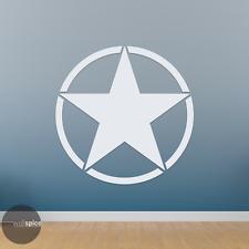 Army Military Star Symbol Vinyl Decal Sticker