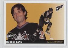 2002-03 Upper Deck Vintage #260 Robert Lang Washington Capitals Hockey Card