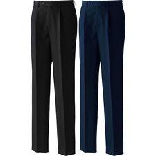 Mens Premier Polyester Single Pleat Trouser Bottom Pant
