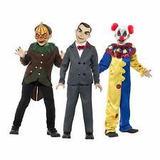Kids Boys Official Goosebumps Childs Horror Clown Pumpkin Doll Halloween Costume