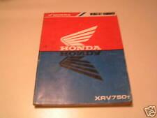 Werkstatthandbuch Honda XR V 750 Stand 1996
