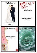 Mariage Cartes ~ mariée/marié ~ moments spéciaux ~ souvenirs ~ toute carte peut être conçu