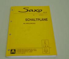 Werkstatthandbuch Elektrik Citroen Saxo Stand 09/2002