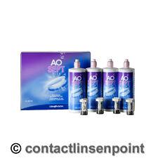 1 bis 4 x Alcon Systempack - AoSept Plus  - 4x 360ml / 4x Behälter