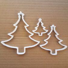 Navidades Arbol Estrellas Forma Cookie de Corte Pasta Moldear Pastelería Fondant