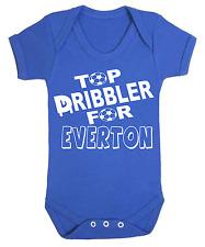 Top Dribbler for Everton Baby Vest Onesie Babygrow Football Baby Vests