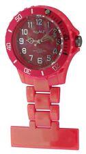 Neon Nurses Fob Watch. Water Resistant Pink, Magenta,Yellow, Green & White