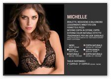 REGGISENO LOVE AND BRA ART. MICHELLE BRALETTE BALCONCINO IN COPPA B CON FERRETTO