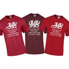 Galles Gallese Dragon Rugby Calcio Beat English Euro 6 Nazionali T-Shirt S-5XL