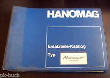 Teilekatalog Hanomag Markant ( Motor D 28 MLA ) Produktionsbeginn 09-1960