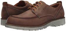 Men's ECCO Holbrok Olied Nubuck Tie Shoes, 532264 02053 Sizes 8-12.5 Cognac NIB