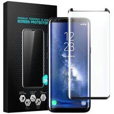 Pellicola Vetro Temperato Curvo Per Samsung Galaxy S8-S8 PLUS protezione schermo