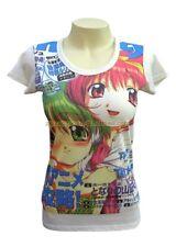 Ladies Japanese Womens Manga Vintage Anime Hentai Cartoon T-shirt Adult All Size