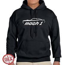 1969 Ford Mach 1 Mustang Classic Design Hoodie Sweatshirt FREE SHIP