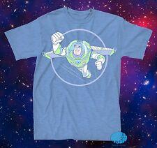 New Disney The Toy Story Buzz Lightyear Pastel Mens T-Shirt