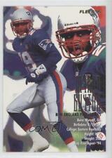 1995 Fleer #252 Myron Guyton New England Patriots Football Card