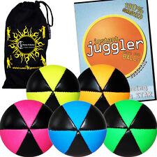 ASTRIX PRO THUD Balles De Jonglage - 5 + Instant Juggler DVD + Sac