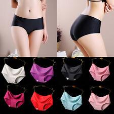 Mid Waist Women Sexy Underwear Knickers Ladies Seamless Briefs Panties M L XL