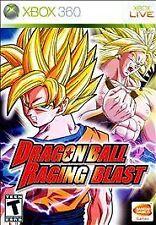 Dragon Ball: Raging Blast USED SEALED (Microsoft Xbox 360, 2009)