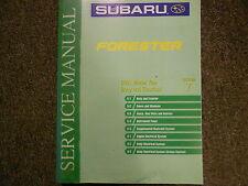 2001 Subaru Forester Body Electrical Section 7 Service Repair Shop Manual OEM 01
