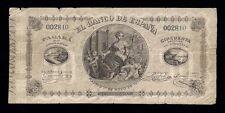 F.C. BILLETE 50 ESCUDOS DE 1873, FALSO DE EPOCA. MBC+. ESPAÑA CLASICO