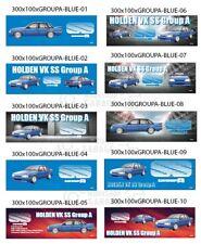 HOLDEN VK SS GROUP A BLUE - Metal Sign - 300MM X 100MM