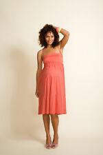 Boob Maternity 2in1 dress / skirt - long summer skirt - coral - XS / L / XL