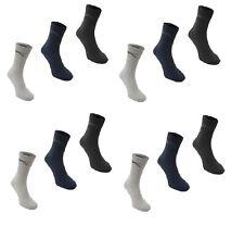 20 Pack Calzini Sportivi Slazenger Crew Socks TENNIS Tg 7-11, 12-15 NUOVO CON ETICHETTE